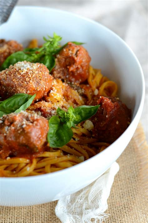 tagliolini aux boulettes de boeuf et sauce tomate au basilic recette