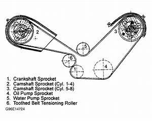 1986 Porsche 928 Serpentine Belt Routing And Timing Belt