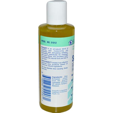 Home Health Products Scargo Scar Massage Skin Lotion - 4 ...