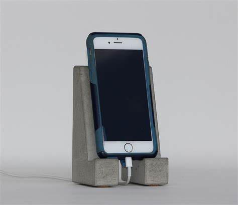 iphone stands concrete cell phone stand tablet stand iphone galaxy