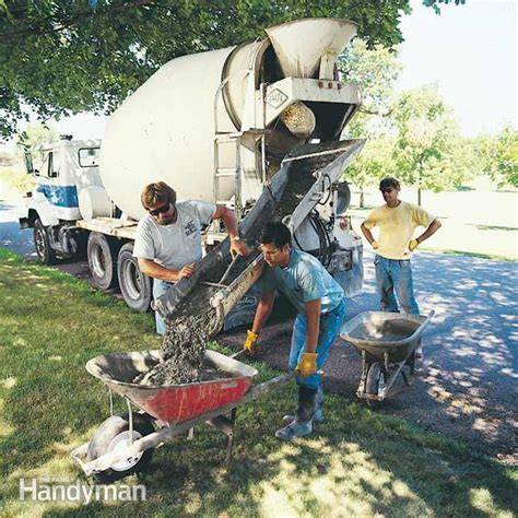 How to Estimate a Concrete Order ? The Family Handyman