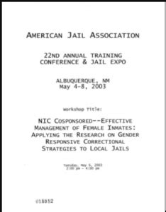 dignity health help desk number effective management of female inmates applying the