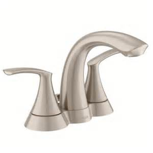 moen darcy 4 in centerset 2 handle bathroom faucet in