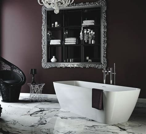 black white purple bathroom purple plum walls product image for clearwater 17440