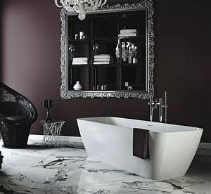 Pin by allie killenbeck on bathroom pinterest for Dark purple bathrooms