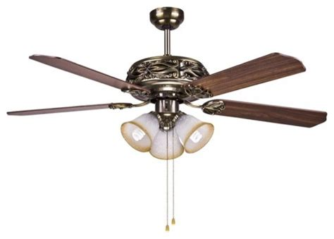 Hton Bay Ceiling Fan Wall Manual by Hton Bay Bronze Ceiling Fan Light 52 Quot With Manual Pull