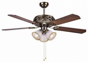Hampton Bay Bronze Ceiling Fan Light 52 U0026quot  With Manual Pull