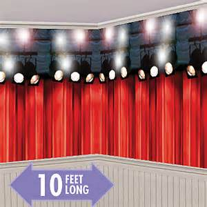 Backdrop Hollywood Theme Party