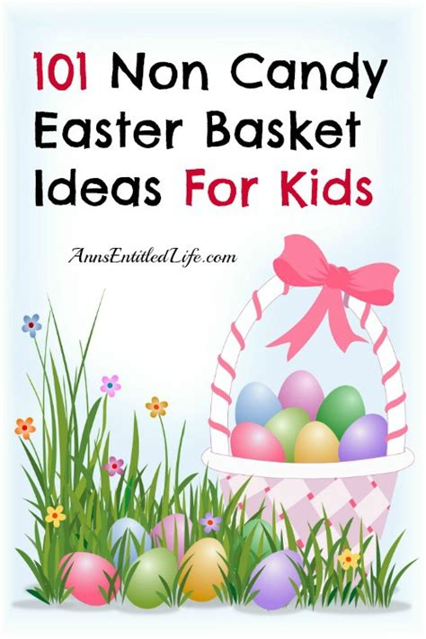 101 non easter basket ideas for 174 | 101 non candy easter basket ideas for kids blogs