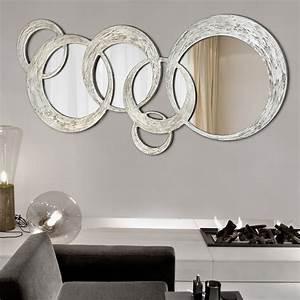 Miroir De Salon : miroir design salon galerie avec best miroirs design contemporain photo ~ Teatrodelosmanantiales.com Idées de Décoration
