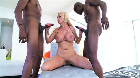 busty milf fucked by two black dick eporner