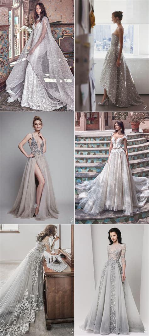 strikingly charming wedding dresses  beautiful color