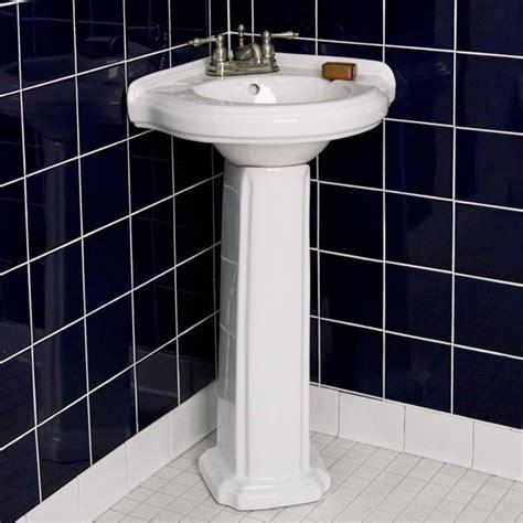 Corner Pedestal Sinks For Small Bathrooms by 20 Fascinating Bathroom Pedestal Sinks Home Design Lover