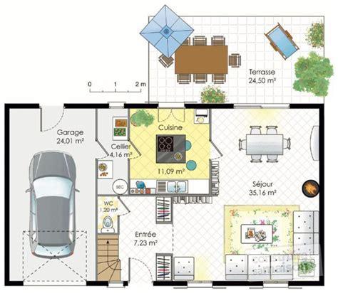 chambre avec ile de maison francilienne 1 dé du plan de maison