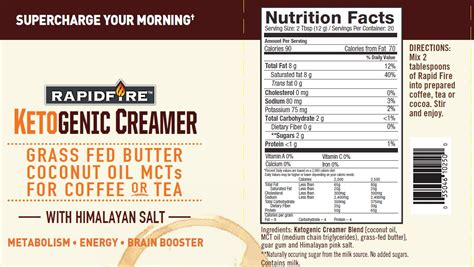 Right now, the organic coffee line is sold at gnc, walmart. Rapid Fire Ketogenic Creamer - Windmill Vitamins