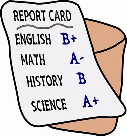 Report Card Grade Clipart Grading Cards Transparent