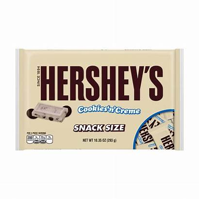 Snack Candy Bars Hershey Cookies Hersheys Creme