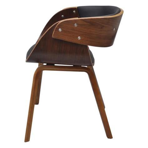 6 chaises de salle a manger lot de 6 chaises à accoudoirs salle à manger brun