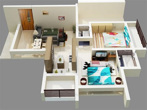 2 Bedroom Apartmenthouse Plans by 2 Bedroom Apartment House Plans