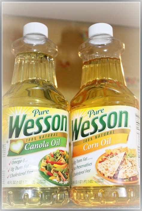 oil cooking wesson pure vegetable fat variety cholesterol kitchen