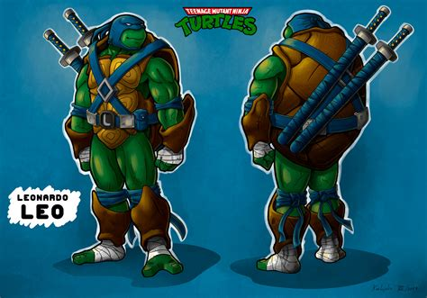 TMNT Leonardo by KARLOJULIO on DeviantArt