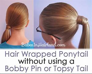 How To Do A Wrap Ponytail | hairstylegalleries.com