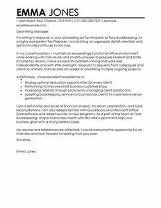 tax preparer cover letter examples accounting finance With cpa tax preparation engagement letter