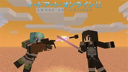 Minecraft Sword Skin Ggo Gun Gale Io