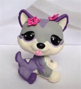 Custom Littlest Pet Shop Husky