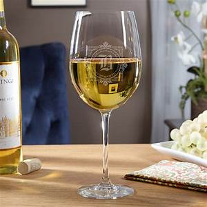 Winchester, Personalized, Large, White, Wine, Glass