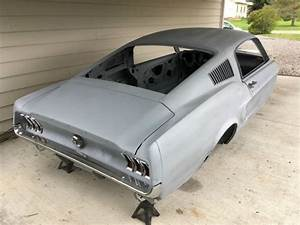 1967 MUSTANG FASTBACK BODY for sale: photos, technical specifications, description