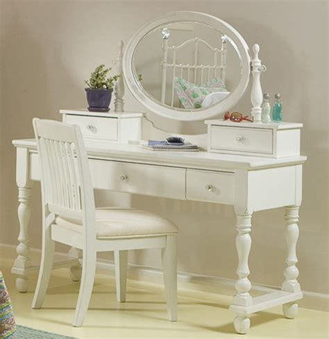 bedroom awesome classic white vanity set with oval mirror