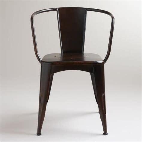 distressed jackson metal tub chair world market