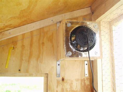 chicken coop ventilation fans exhaust fans
