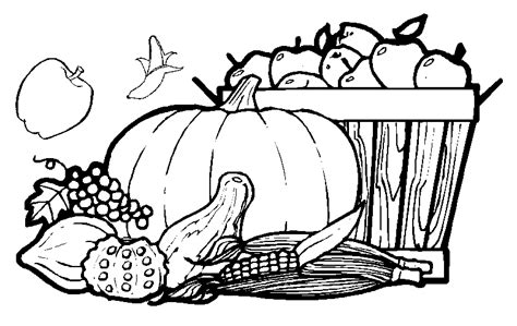coloring pages  fresh fruit  vegetables color udin