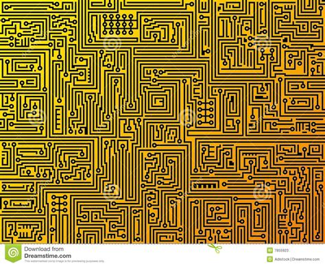Circuit Board Background Vector Stock Photos Image