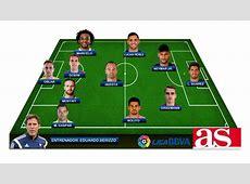 Liga BBVA El once ideal de la primera vuelta de la Liga