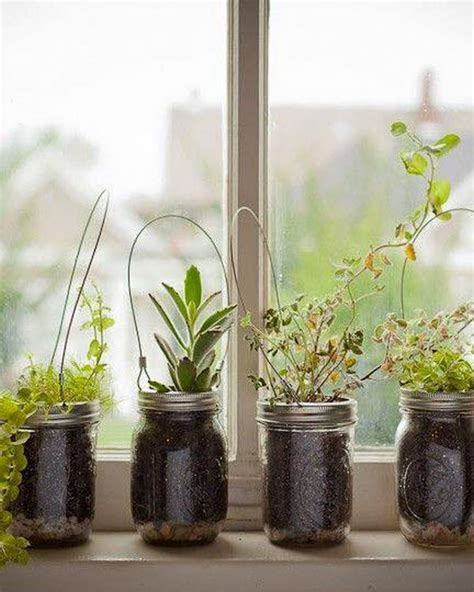 20  DIY Mason Jars Flower Pots   Home Design, Garden