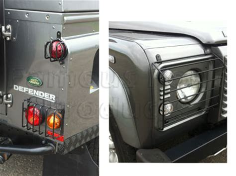4 inch screws light guards for land rover 90 110 and defender