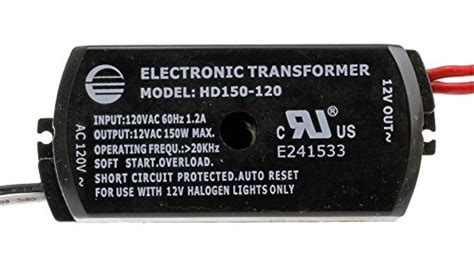 electronic transformer halogen ls 150w electronic low voltage halogen transformer hd150 120