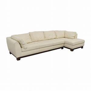 Roche Bobois Chaises : 89 off roche bobois roche bobois cream leather chaise ~ Melissatoandfro.com Idées de Décoration