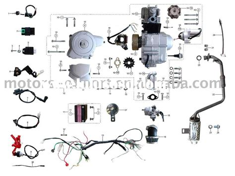Coolster 125 Wiring Diagram by Coolster 125cc Atv Wiring Diagram Collection