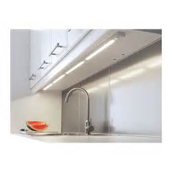 rationell led worktop lighting aluminium colour 60 cm ikea