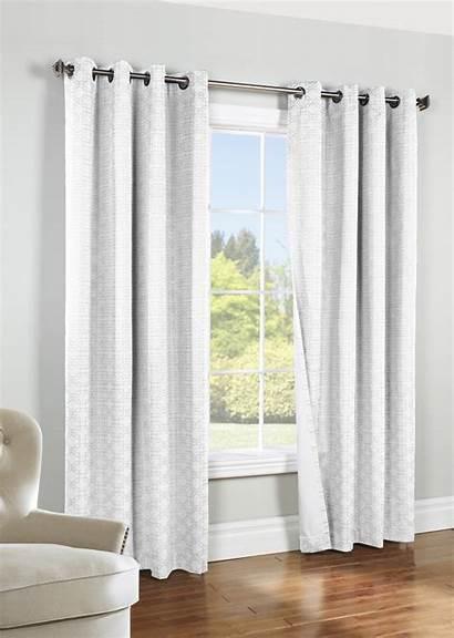 Grommet Curtain Blackout Panel Insulated Window Geometric