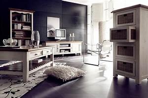 Tv Bank Landhaus : sideboard anrichte shabby vintage look kiefer massiv wei ~ Lateststills.com Haus und Dekorationen