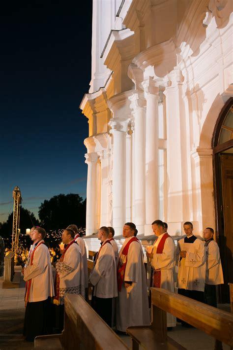Ināra Mūrniece piedalās Vissvētākās Jaunavas Marijas debes ...