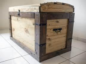 Wood Plans Toy Storage by R 233 Cup Amp Design Coffre En Bois De Palettes De Manutention Design Industrielle