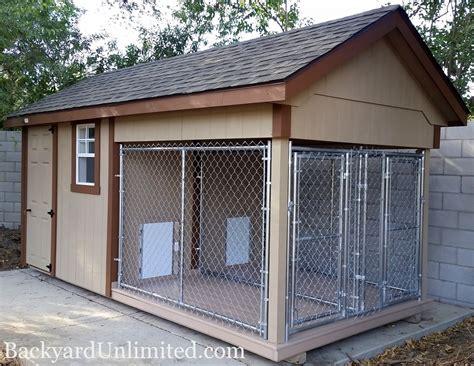 garage door installation structures kennels backyard unlimited