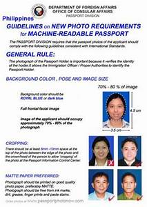 philippines passport and visa photos printed and With requirements for getting passport