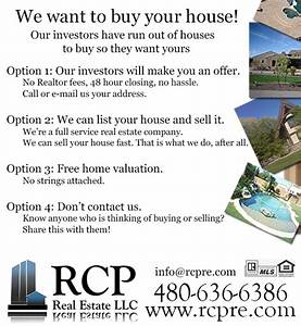 our investors want to buy your house san tan valley real With i want to buy your house letter